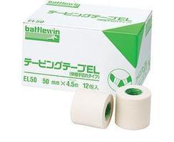 【送料・代引き手数料無料】ニチバン バトルウィン テーピングテープEL(伸縮) 75mm×4.5m×12巻入【正規品】