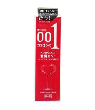 【送料・代引き手数料無料】 オカモトゼロワン 潤滑ゼリー 50g×30個セット【正規品】