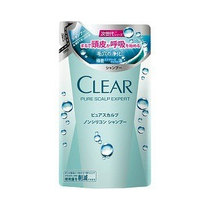 Clear pure scalp expert shampoo refill for 300 g