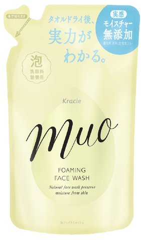 Muo (Muo) foaming face wash premium refill 180 ml