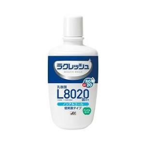 【24個セット】【送料・代引き手数料無料】ラクレッシュ L8020菌使用 マウスウォッシュ ノンアルコールタイプ×24個セット  1ケース分【正規品】