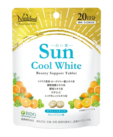 【10個セット】【送料無料】ISDG サンクールホワイト (1000mg×40粒)×10個セット 【正規品】医食同源