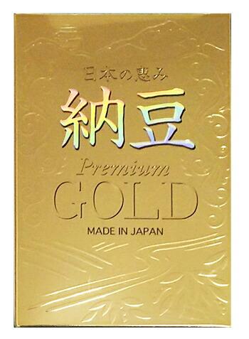 【10個セット】 【送料・代引き手数料無料】日本の恵み 納豆 GOLD(ゴールド) 330球 ×10個セット 【正規品】MADE IN JAPAN
