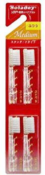 【24個セット】シケン ソラデー専用スペアブラシ M (ふつう) 4本入×24個セット【正規品】【mor】【ご注文後発送までに1週間前後頂戴する場合がございます】