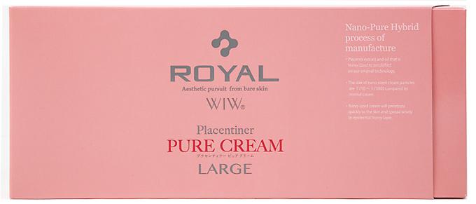 【5個セット】【送料・代引き手数料無料】ロイヤルラージ プラセンティナー ピュアクリーム 90袋入(ROYAL Placentiner PURE CREAM LARGE)×5個セット 【正規品】