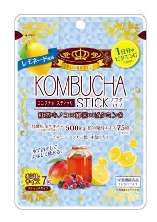 【1ケース分】【30個セット】KOMBUCHA STICK レモネード風味 2g×7包 コンブチャ スティック×30個セット【正規品】 ※軽減税率対応品