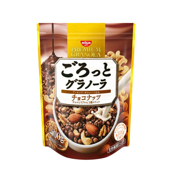 10個セット! 【10個セット】 日清シスコ ごろっとグラノーラ チョコナッツ (400g)×10個セット 【正規品】 ※軽減税率対応品