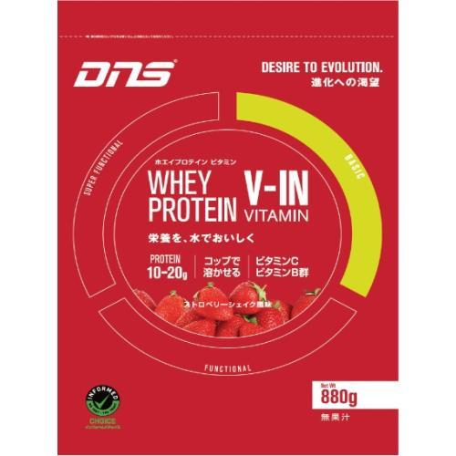 【10個セット】DNS プロテイン ホエイプロテイン ストロベリーシェイク風味 880g ×10個セット 【正規品】 ※軽減税率対応品