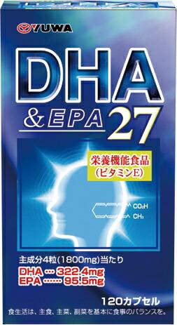 유와 DHA&EPA27 120 캅셀