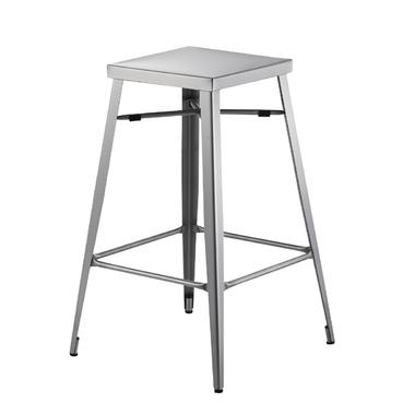 スチール ステンレス ハイスツール 花台 椅子 ハイチェア バーチェア カフェチェア イス