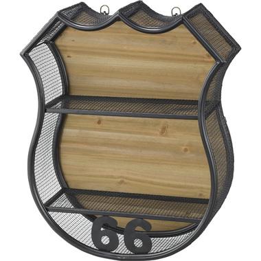 ラック木製 ディスプレイラック 収納棚 オープンラック 多目的ラック 雑貨 インテリア ウォールラック