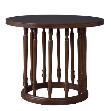 花台 おしゃれ 天然木 丸型 エントランステーブル ラウンドテーブル