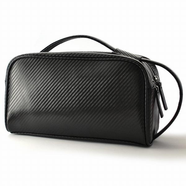 BEAMZSQUARE カーボンレザー クラッチバッグ セカンドバッグ メンズ 紳士用 男性用鞄 カバン 送料無料10P03Dec16 クリスマス ギフト プレゼント 贈り物