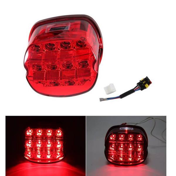ハーレー純正タイプ LEDテールライト/テールランプ/スポーツスター/ダイナ/ソフテイル/ツーリング/xl/fxd/flh/flt/flst RED