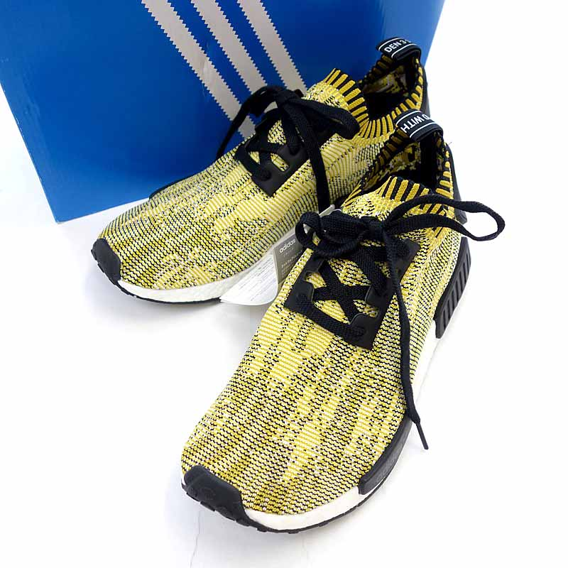 Adidas ADIDAS NMD RUNNER PK S42131 sneakers size men US10 yellow X black rank A 101 13A18