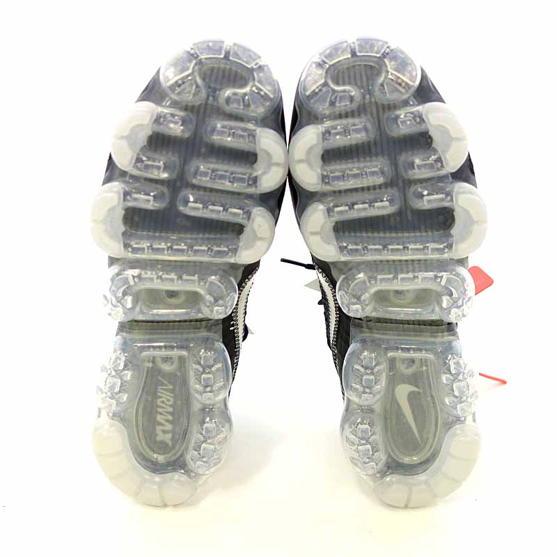 aeabe65400 ... Nike /NIKE X OFF-WHITE AIR VAPORMAX Part 2 Black sneakers size men US9  ...