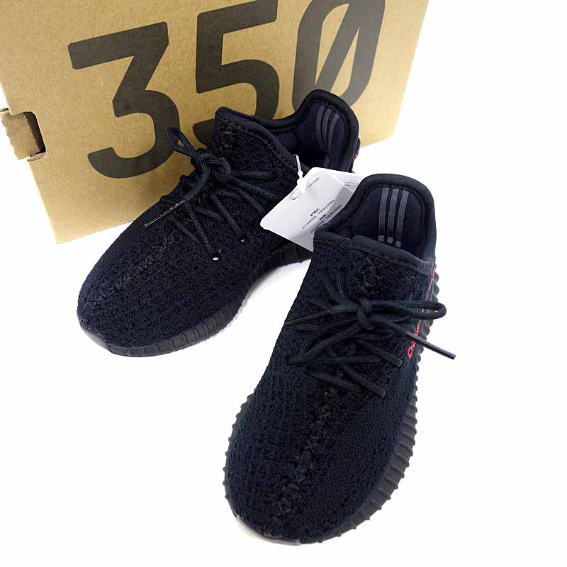 Adidas  ADIDAS yeezy boost 350 V2 infant BB6372 sneakers size 8K black X red  rank N 106 80E18 9a8ad012d3