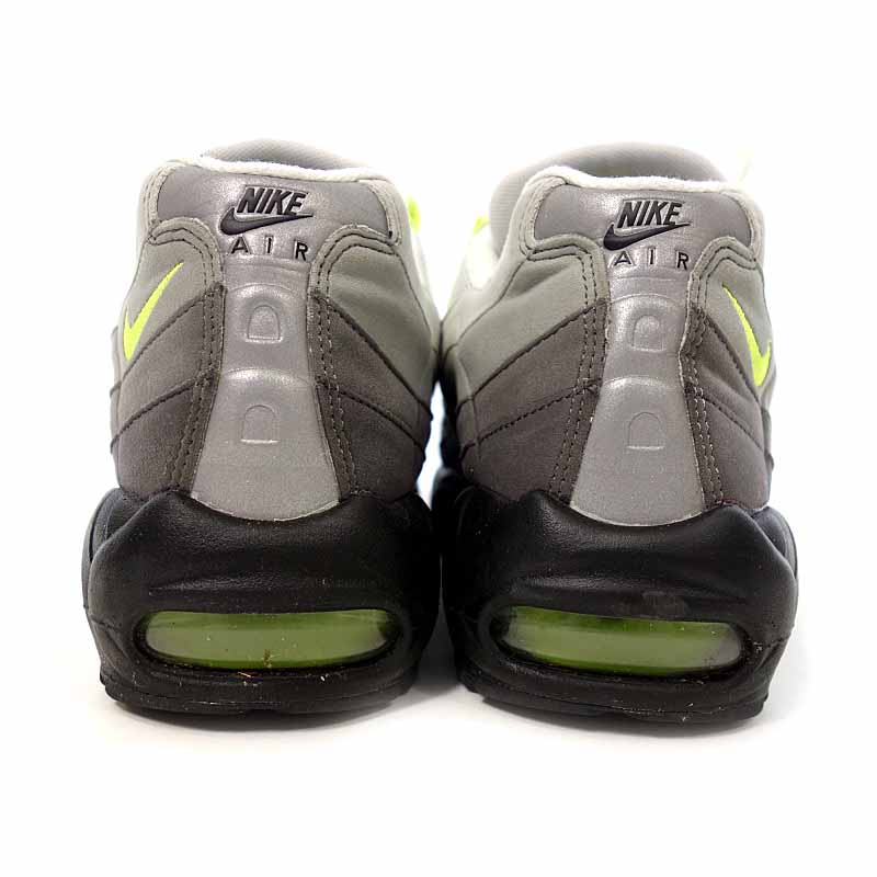 aad2ce7014e81 ... Nike /NIKE AIR MAX 95 OG sneakers size men US10 black X gray X neon ...