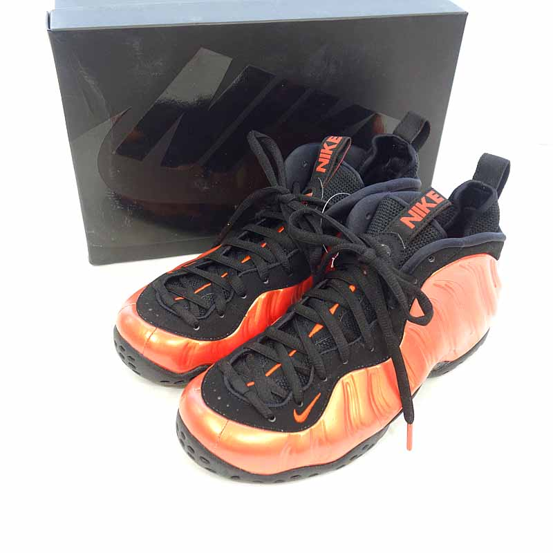 brand new a07df 5de69 Nike /NIKE AIR FOAMPOSITE ONE Habanero RED habanero knee size men 26.5cm  (US8.5) red rank N 102 40E19
