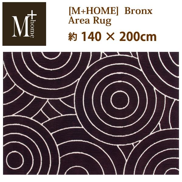 M+HOME ブロンクス エリアラグ(140×200cm)北欧風 【05P03Dec16】