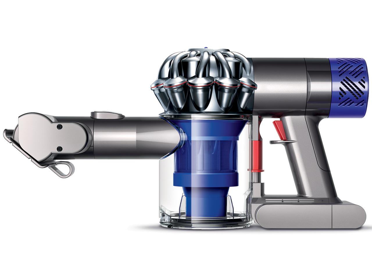 発売日:2015年5月21日 送料無料 Dyson 国産品 V6 Trigger ブルー サイクロン式布団クリーナー 特価キャンペーン コードレス ニッケル HH08MH