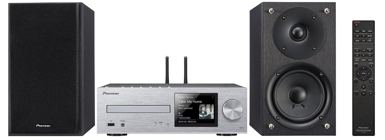 【送料無料】Pioneer パイオニア ネットワークCDレシーバーシステム ハイレゾ音源対応 シルバー X-HM76(S)