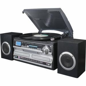 マルチミュージックコンポ 【送料無料】フィフティ MT-39 ブラック