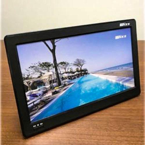 おうち時間を応援 2020 12 1発売予定商品 送料無料 Wizz 地デジワンセグ WPT-H1100 バッテリー内蔵 USB端子 11.6型ポータブルテレビ 定番から日本未入荷 HDMI 新色追加して再販