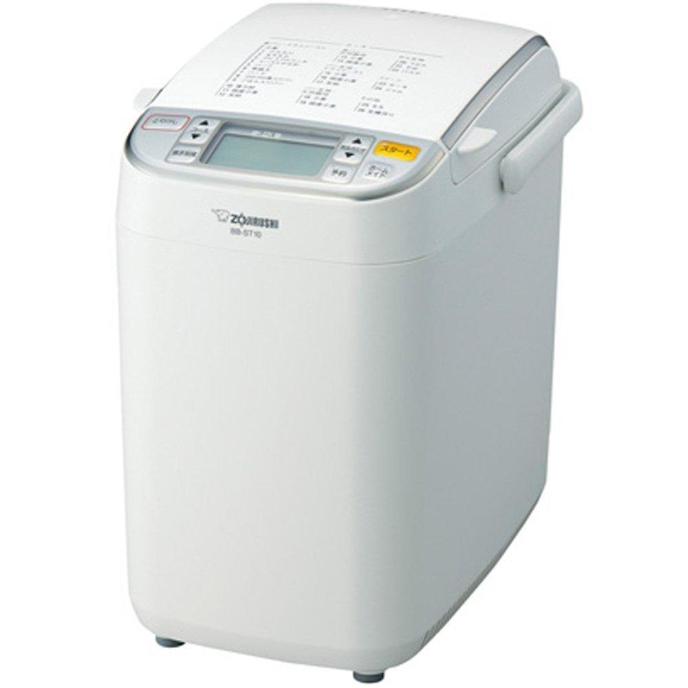 【送料無料】象印 ホームベーカリー 1斤タイプ ホワイトZOJIRUSHI パンくらぶ BB-ST10-WA