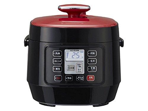送料無料 KOIZUMI マイコン電気圧力鍋 初売り レッド R 倉 KSC-3501