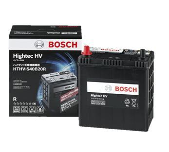 BOSCH【ボッシュ】ハイブリット車用補機バッテリー HTHV-S40B20R 適合車種 プリウス 1.8i 型式DAA-ZVW30