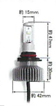 【2020年6月4日20:00~2020年6月11日1:59イベント期間中当店全商品ポイント10倍】CALSONIC【カルソニック】ECO LED:6000K LED-KIT 12V HB4 14W FOG用 FOG LAMP BULB CKL-SFHB4L