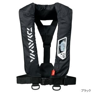 DAIWA DF-2007 ウォッシャブルライフジャケット(肩掛けタイプ手動・自動膨脹式) ブラック