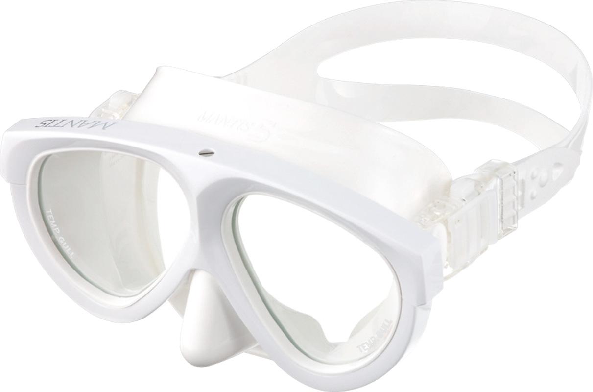 【送料無料!】GULL(ガル) マンティス5 ホワイトシリコン (スーパーホワイト)[GM-1036](ダイビングマスク)