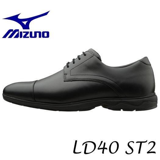 【送料無料!】MIZUNO ミズノ LD40 ST2(ウォーキング)(ブラック) [B1GC162109] メンズウォーキングシューズ ※返品・交換不可商品です。