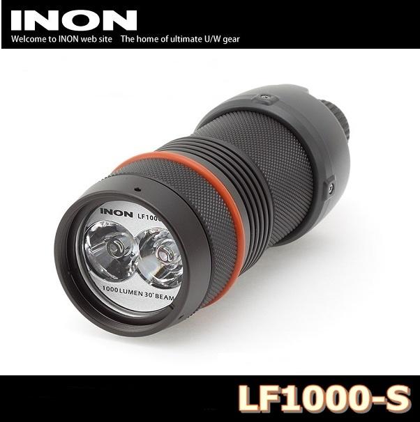 【送料無料!】INON(イノン) LF1000-S 水中LEDライト 防水ダイビングライト