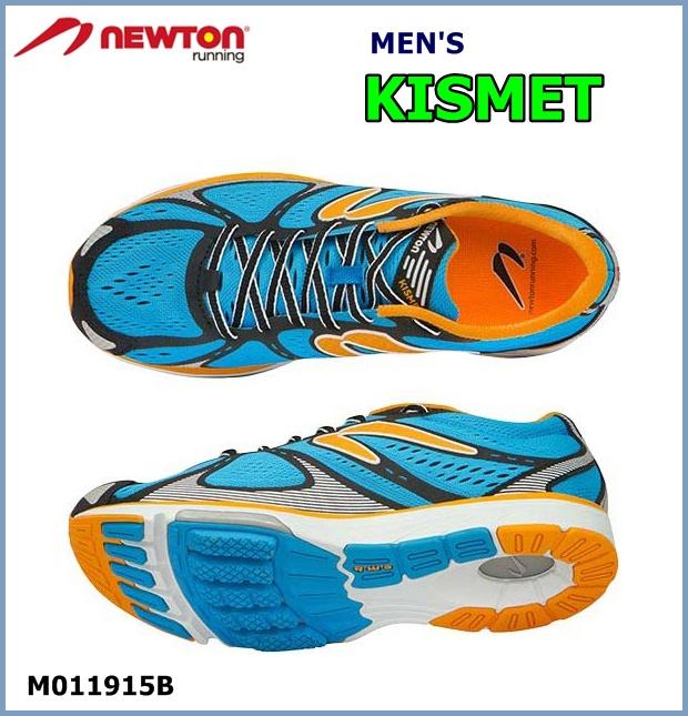 【送料無料!】NEWTON(ニュートン) メンズ ランニングシューズ KISMET (キズミット) Blue/Orange(ブルー×オレンジ)[M011915B] ※返品・交換不可商品となります。