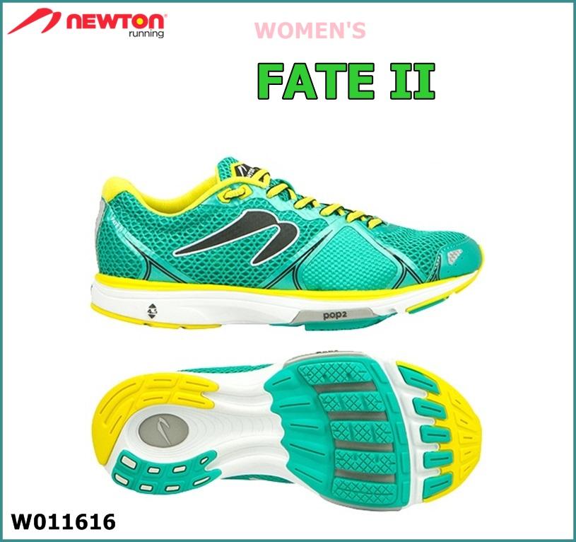 【送料無料!】 NEWTON(ニュートン)レディース ランニングシューズ Fate II (フェイト2)グリーン(Green) [W011616] ※返品・交換不可商品となります。