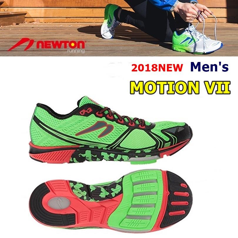 【送料無料!】 NEWTON(ニュートン)メンズ ランニングシューズ MOTION 7(モーション7)Lime/Red (ライム×レッド) [M000318] ※返品・交換不可商品となります。