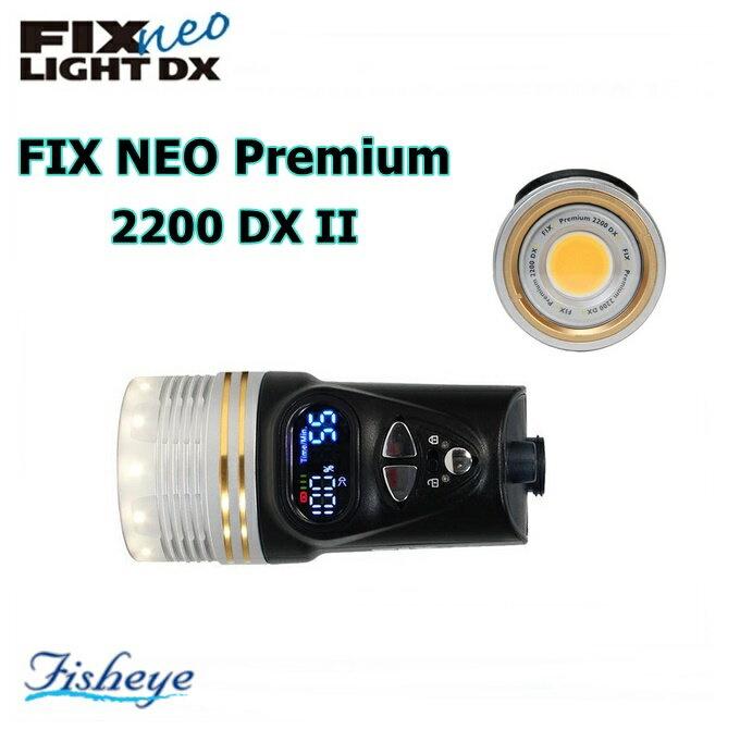 【全国送料無料!】Fisheye(フィッシュアイ) FIX NEO Premium 2200 DX II ゴールドリングシルバー[30422]