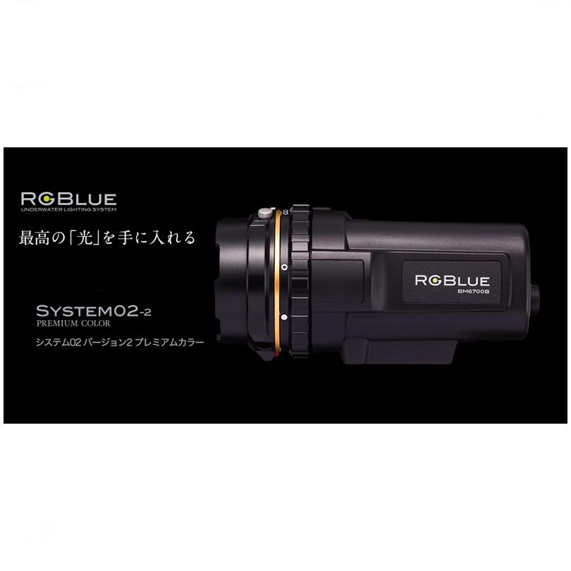 【送料無料!】RGBlue(アールジーブルー) System02-2(システム02 バージョン2)プレミアムカラー ダイビング 水中ライト