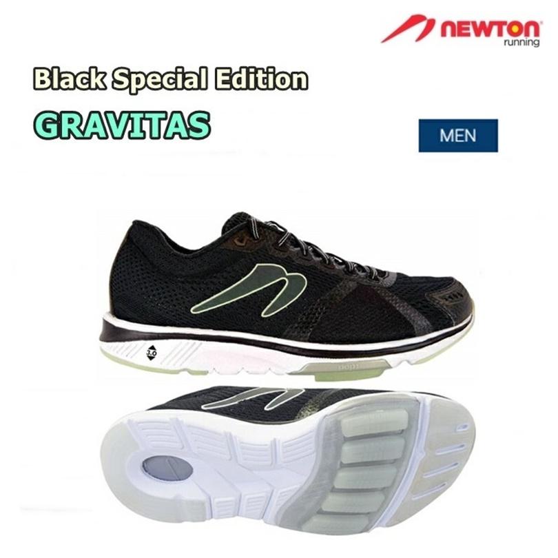 【送料無料!】NEWTON(ニュートン)メンズ ランニングシューズ GRAVITAS BLACK SPECIAL EDITION(グラビタス ブラックSE)[M000918] ※返品・交換不可商品となります。