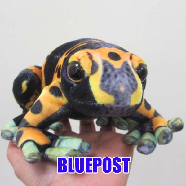 通常便なら送料無料 カエル グッズ 置き物 ぬいぐるみ かえる 蛙 TST S ふわふわカエルのぬいぐるみ フィギュア ワイルドグラフィ キオビヤドクガエル 人形 SA020 AL完売しました。