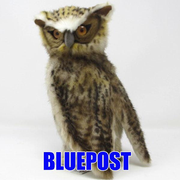 hansa 新品 鳥 梟 猛禽類 トリ とりふくろう 不苦労 ハンサ ぬいぐるみ 26首がグルっと回せる FISH リアル アニマル シマフクロウ BH6767 ふくろうのぬいぐるみ-BLAKISTON'S 驚きの値段 動物 OWL-