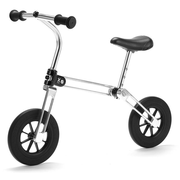 【歳末セール】アルミ削り出しCNC 折りたたみ バランスバイク キックバイク ペダル無しキッズバイク 【X-mini】 BalanceBike Kickbike KidsBike Foldingbike