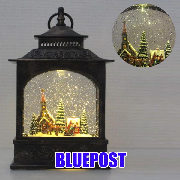 【歳末セール】【クリスマス】[HM-8135]ホリデーリキッドLEDランタンクリスマス 雑貨 グッズ※沖縄・北海道・離島・海外へは発送不可