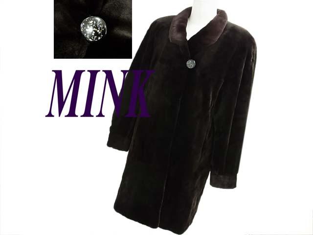 【中古】●ROZEN シェアードミンク●最高級毛皮コート 極上の滑らか