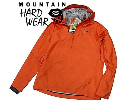 【未使用】◇タグ付◇マウンテン ハード ウェア◇プルオーバー パーカジャケット オレンジ アウトドア 登山 MOUNTAIN HARD WEAR