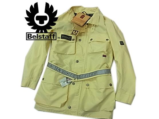 【未使用】タグ付き◇ベルスタッフ XL500 Summer サマージャケット ナイロンジャケット ベルト付 メンズ イタリア製 Belstaf 人気モデル