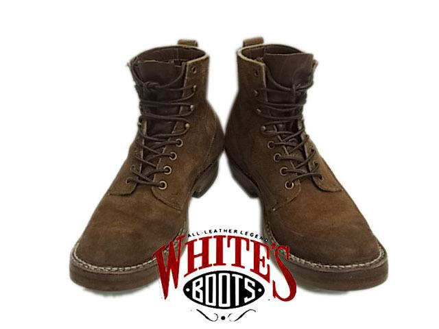 【中古】◇ホワイツブーツ◇オリジナルパッカー レザー ワークブーツ WHITE'S BOOTS Original Packer 激シブ レースアップ メンズシューズ